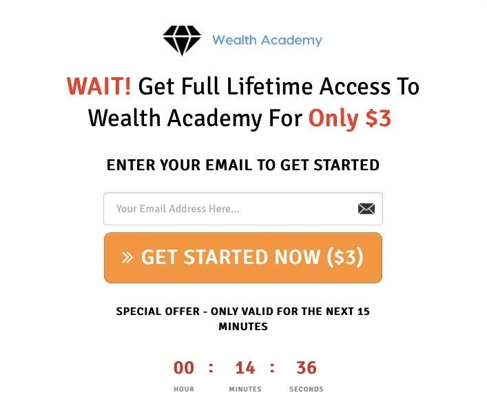 Wealth Academy Price
