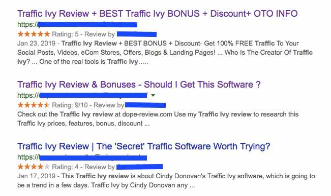 Traffic Ivy is a SCAM