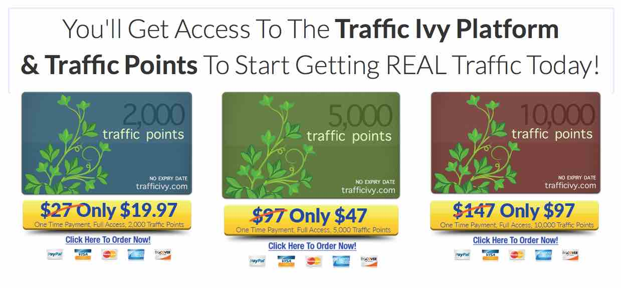 Traffic Ivy packages