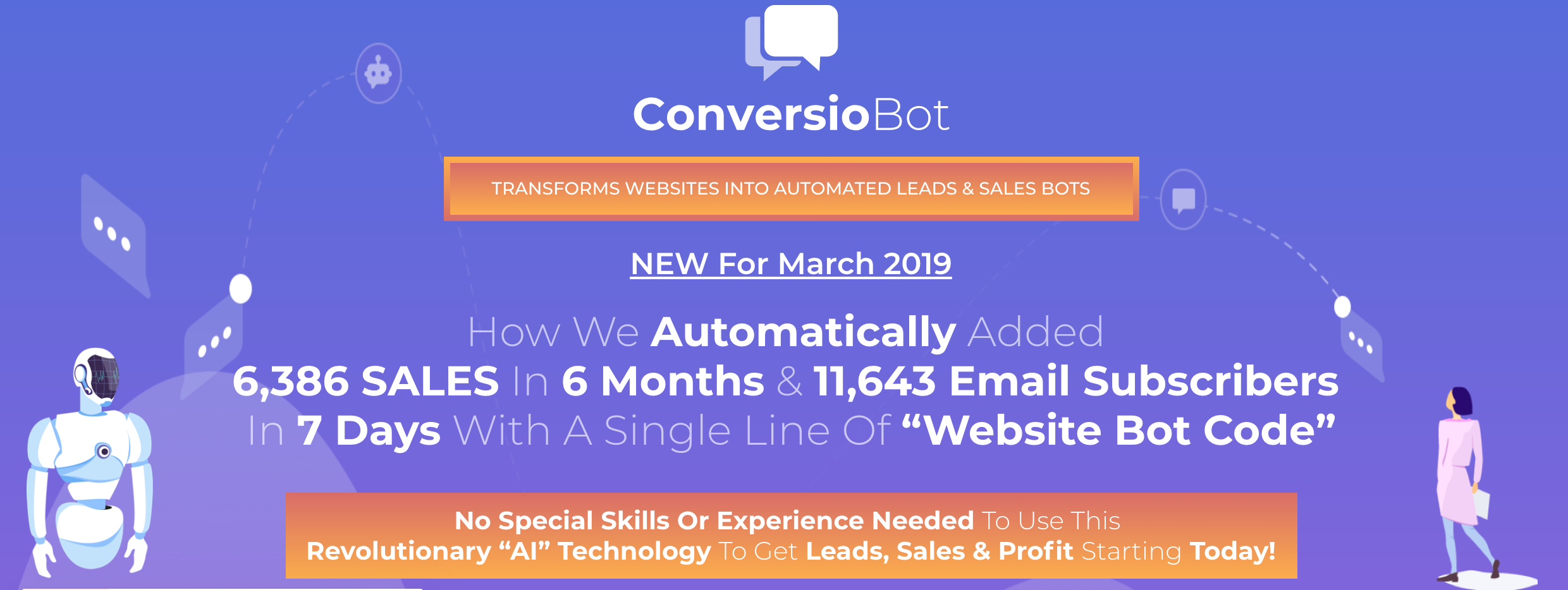 The Conversiobot review