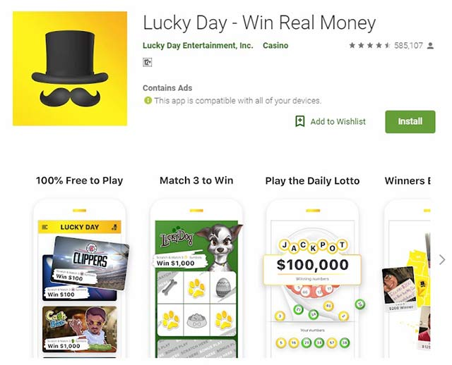 Lucky Day App Review – Legit or Scam? - SnapBrisk