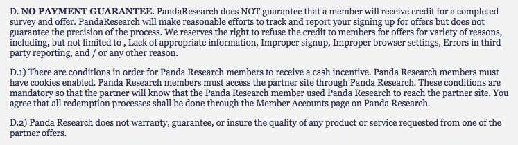 is panda research a scam