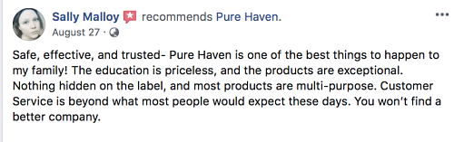 What is Pure Haven Essentials? Review