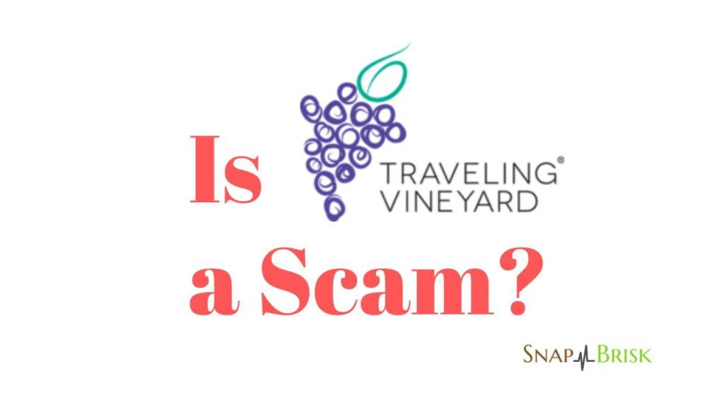 is travelling vineyard a scam