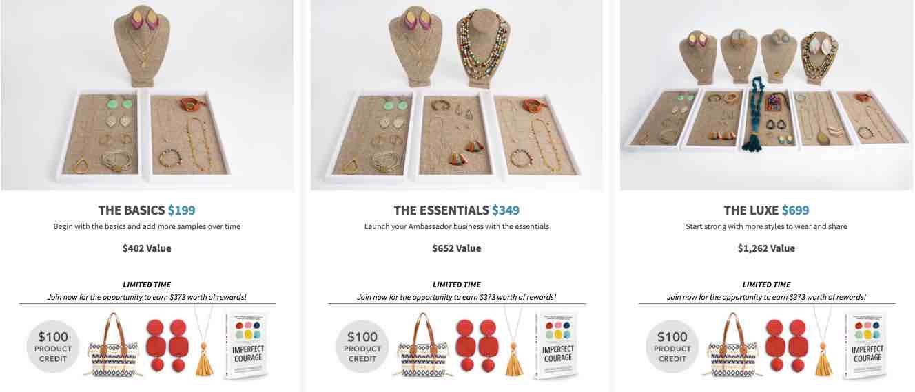 Noonday Collection starting kits