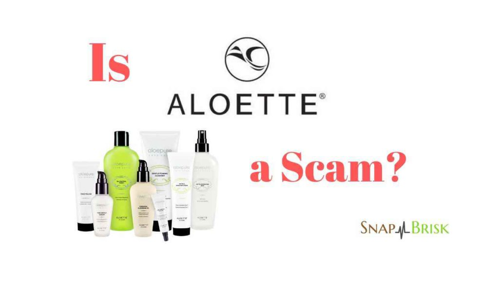 is aloette cosmetics a scam